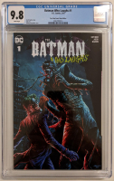 """2019 """"The Batman Who Laughs"""" Issue #1 One Stop Comic Shop Comics Exclusive Variant DC Comic Book (CGC 9.8)"""