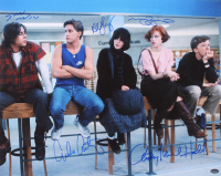 """The Breakfast Club"" 16x20 Photo Signed By (5) With Molly Ringwald, Emilio Estevez, Judd Nelson, Anthony Michael Hall & Ally Sheedy (Schwartz COA) at PristineAuction.com"