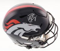 Peyton Manning Signed Denver Broncos Full-Size Authentic On-Field SpeedFlex Helmet (Fanatics Hologram) at PristineAuction.com