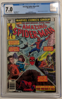 "1979 ""The Amazing Spider-Man"" Issue #195 Marvel Comic Book (CGC 7.0)"