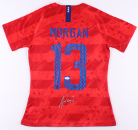 Alex Morgan Signed Team USA Jersey (JSA COA)