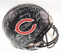 1985 Chicago Bears Super Bowl XX Logo Full-Size Authentic On-Field Helmet Team-Signed by (31) with Mike Ditka, Dan Hampton, Mike Singletary, Richard Dent (Schwartz COA)