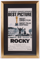 """Rocky"" 17x25 Custom Framed Movie Poster Display at PristineAuction.com"