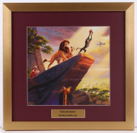 "Thomas Kinkade Walt Disney's ""The Lion King"" 17.5x18 Custom Framed Print Display"