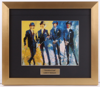 "LeRoy Neiman ""The Beatles"" 14x16 Custom Framed Print Display"