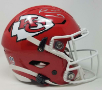 Patrick Mahomes Signed Chiefs Full-Size Authentic On-Field SpeedFlex Helmet (Fanatics Hologram) at PristineAuction.com