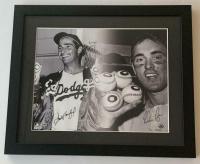 Sandy Koufax & Nolan Ryan Signed 16x20 Custom Framed LE Photo (UDA COA)