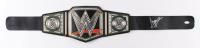 A.J. Styles Signed WWE World Heavyweight Champion Belt (JSA COA) at PristineAuction.com
