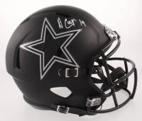 Amari Cooper Signed Dallas Cowboys Full-Size Black ICE Speed Helmet (JSA COA)