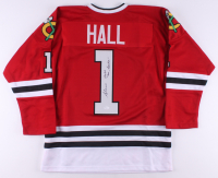 "Glenn Hall Signed Jersey Inscribed ""Mr. Goalie"" (JSA COA) at PristineAuction.com"