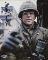 "Matthew Modine Signed ""Full Metal Jacket"" 8x10 Photo (Beckett COA) at PristineAuction.com"
