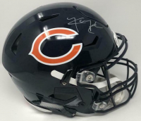 Khalil Mack Signed Chicago Bears Full-Size Authentic On-Field SpeedFlex Helmet (Fanatics Hologram) at PristineAuction.com