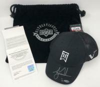 Tiger Woods Signed Nike Victory Black Golf Cap (UDA COA)