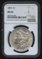 1899 $1 Morgan Silver Dollar (NGC MS 62) at PristineAuction.com