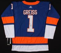 Thomas Greiss Signed New York Islanders Jersey (JSA COA)