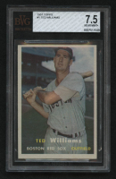 1957 Topps #1 Ted Williams (BVG 7.5) at PristineAuction.com