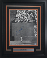 Willie Mays Signed San Francisco Giants 16x20 Custom Framed Photo Display (Beckett COA) at PristineAuction.com