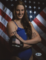 Missy Franklin Signed 8x10 Photo (Beckett COA)