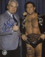 Tully Blanchard & J.J. Dillon Signed WWE 8x10 Photo (Pro Player Hologram)
