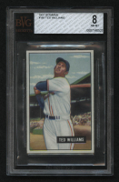 1951 Bowman #165 Ted Williams (BVG 8) at PristineAuction.com