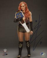 Becky Lynch Signed WWE 8x10 Photo (Pro Player Hologram)