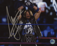 A.J. Styles Signed WWE 8x10 Photo (Pro Player Hologram)