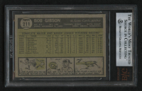 1961 Topps #211 Bob Gibson (BVG 9) at PristineAuction.com