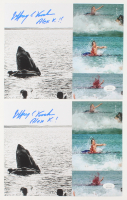 "Lot of (2) Jeffrey Voorhees Signed ""Jaws"" 8x10 Photos Inscribed ""Alex K"" (JSA COA) at PristineAuction.com"