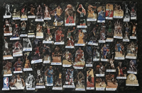 """NBA Legends"" 40x60 Original Cut Collage on Canvas Signed by (61) with Michael Jordan, LeBron James, Allen Iverson, Magic Johnson (JSA LOA) at PristineAuction.com"