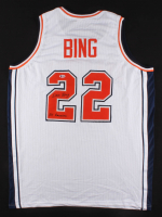 "Dave Bing Signed Jersey Inscribed ""All American"" (Beckett Hologram) at PristineAuction.com"
