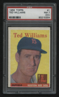 1958 Topps #1 Ted Williams (PSA 7)(OC) at PristineAuction.com