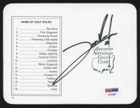Jon Rahm Signed Masters Augusta National Golf Club Scorecard (PSA Hologram) at PristineAuction.com