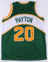 Gary Payton Signed Jersey (PSA COA) at PristineAuction.com