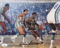Oscar Robertson Signed Milwaukee Bucks 8x10 Photo (JSA COA)