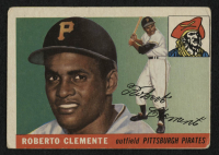 1955 Topps #164 Roberto Clemente RC at PristineAuction.com