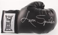 Leon Spinks Signed Everlast Boxing Glove (Schwartz COA)
