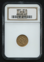 1858 $2.50 Liberty Head Quarter Eagle Gold Coin (NGC VF 30) at PristineAuction.com