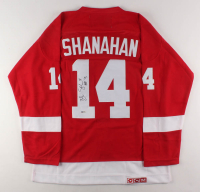 "Brendan Shanahan Signed CCM Detroit Red Wings Jersey Inscribed ""HOF '13"" (Beckett COA) at PristineAuction.com"