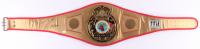 Julio Cesar Chavez Signed Full-Size WBC Championship Belt (JSA COA)