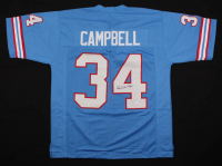 Earl Campbell Signed Jersey (JSA Hologram) at PristineAuction.com