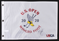 Rickie Fowler Signed 2020 U.S. Open Championship Golf Pin Flag (JSA COA) at PristineAuction.com