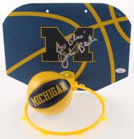 "John Beilein Signed Michigan Wolverines Mini Basketball Hoop Inscribed ""Go Blue!"" (JSA COA)"