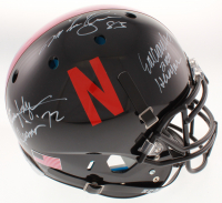 Johnny Rodgers, Eric Crouch & Mike Rozier Signed Nebraska Cornhuskers Full-Size Authentic On-Field Helmet with Multiple Inscriptions (JSA COA) at PristineAuction.com