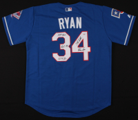 Nolan Ryan Signed Texas Rangers Jersey with (4) Inscriptions (PSA COA) at PristineAuction.com