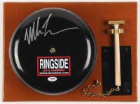 Mike Tyson Signed Authentic Full Size Ringside Boxing Bell (PSA COA)