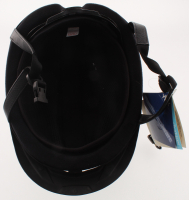 "Mike Smith, Bob Baffert & Victor Espinoza Signed Full-Size Matte Black Equestrian Racing Helmet Inscribed ""T.C."" (PSA Hologram) at PristineAuction.com"