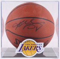 Kobe Bryant Signed Official NBA Game Ball with Display Case (PSA COA) at PristineAuction.com