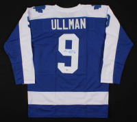 """Norm Ullman Signed Jersey Inscribed """"HOF - 82"""" (Beckett COA) at PristineAuction.com"""