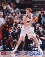 "Brian Scalabrine Signed New Jersey Nets 8x10 Photo Inscribed ""White Mamba"" (Your Sports Memorabilia Store COA) at PristineAuction.com"
