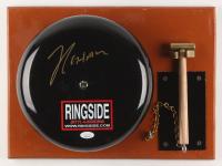 Julio Cesar Chavez Signed Authentic Full-Size Ringside Boxing Bell (PSA COA)